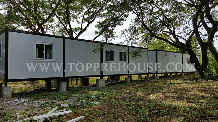Latest Projects Camping Solution Container House Prefab