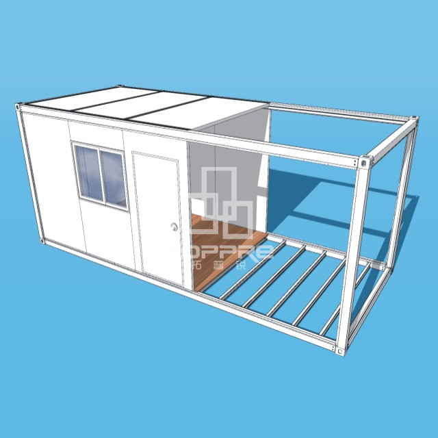 Easy container house