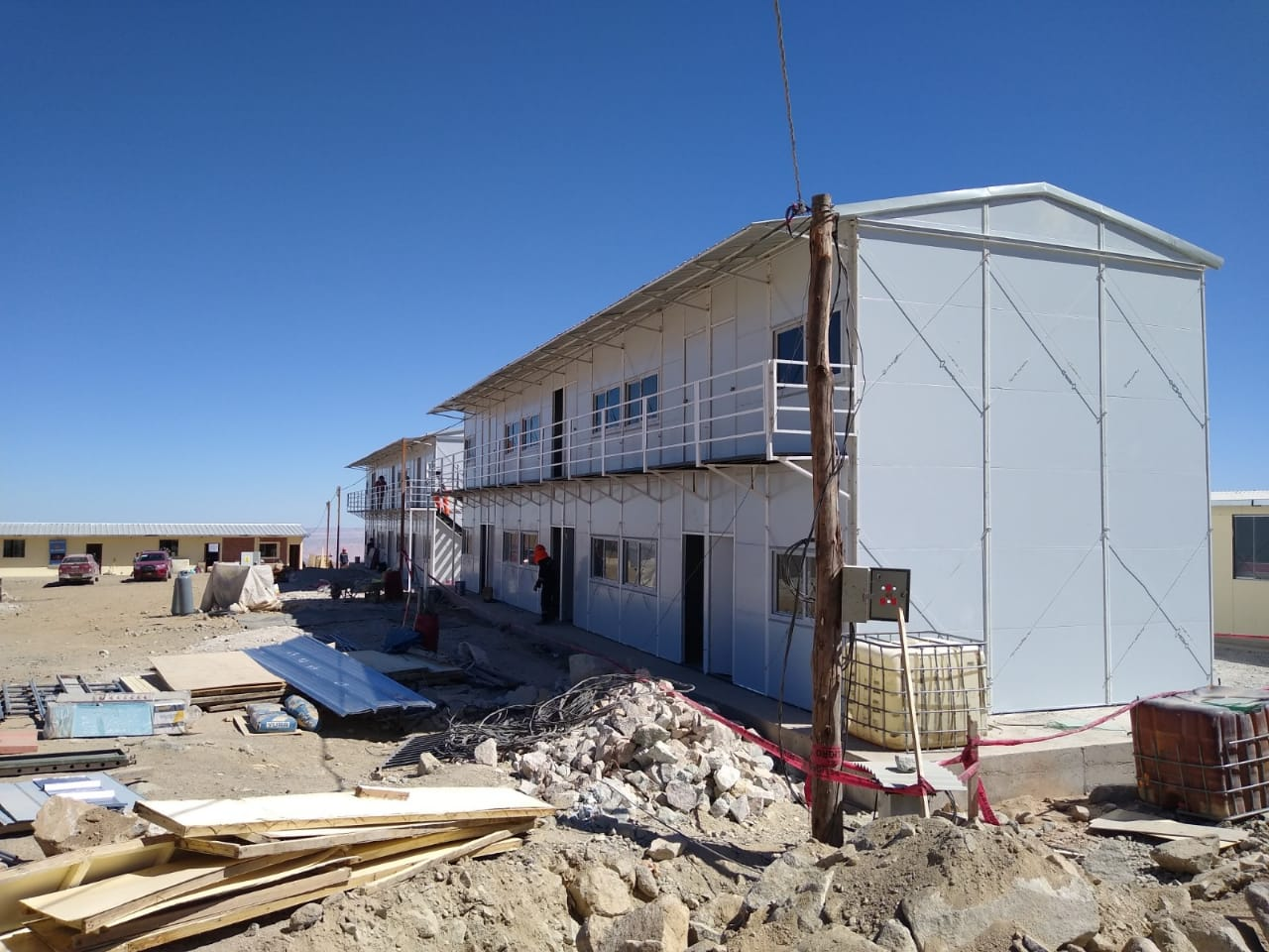 TOPPRE Prefabricated K house project in Peru